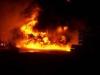 Brand der Clubhalle