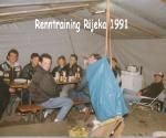 Renntraining in Rijeka